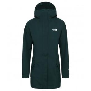 The North Face Women's All Terrain Zip-In Jacket PONDEROSA GREEN-20
