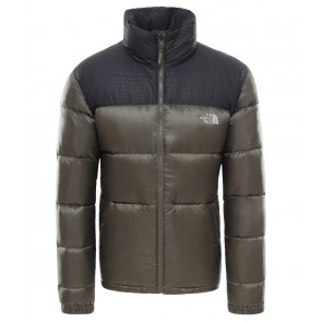 The North Face Men's Nevero Down Jacket NEW TAUPE GREEN/TNF BLACK-20