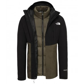 The North Face Men's Mountain Light GORE-TEX Zip-In Triclimate Jacket NEW TAUPE GREEN/TNF BLACK-20