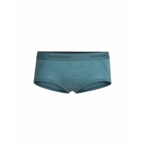 Icebreaker Wmns Sprite Hot pants BLUE SPRUCE-20