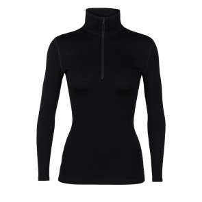 Icebreaker Wmns 260 Tech LS Half Zip Black-20