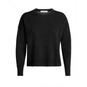 Icebreaker Wmns Carrigan Reversible Sweater Sweatshirt Black-20