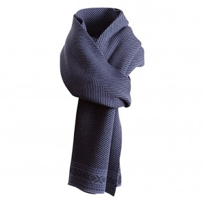 Dale of Norway Harald Scarf navy mel. /dark grey mel.-20
