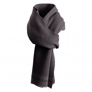 Dale of Norway Harald Scarf Black mel. /dark charcoal mel.-20