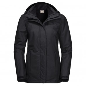 Jack Wolfskin Iceland 3In1 Women black-20