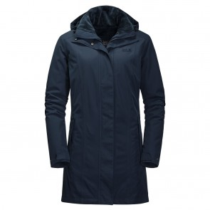 Jack Wolfskin Madison Avenue Coat midnight blue-20