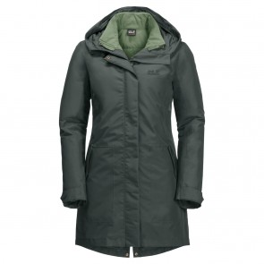 Jack Wolfskin Monterey Bay Coat greenish grey-20