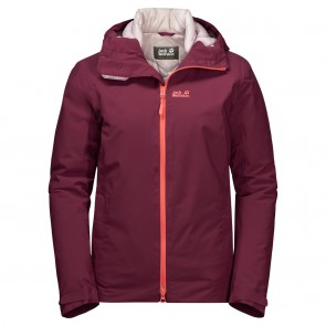 Jack Wolfskin Astana Jacket W fall red-20