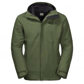 Jack Wolfskin Bornholm 3In1 Jacket M XL moss-20