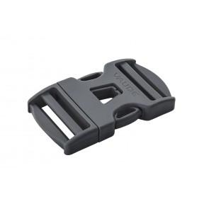 VAUDE Steckschnalle 20 mm Dual Adjust black-20