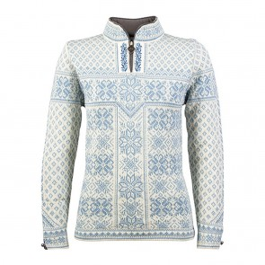 Dale of Norway Peace Fem Sweater Ice blue / off white-20