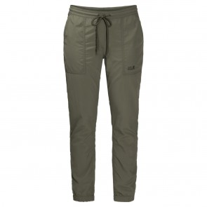 Jack Wolfskin Kalahari Cuffed Pants Women woodland green-20