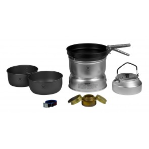 Trangia Storm Cooker 25-0 UL/HA Large with Non-stick Frypan with Kettel-20