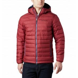 Columbia Powder Lite Hooded Jacket M Red Jasper-20