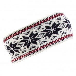 Dale of Norway Garmisch Headband Off White / Navy /  Raspberry-20