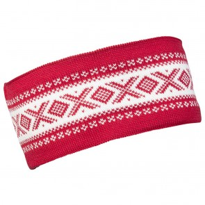 Dale of Norway Cortina Merino headband Raspberry / Off white-20