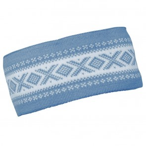 Dale of Norway Cortina Merino headband Blue shadow / off white-20