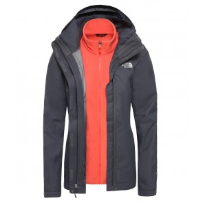 The North Face Women's Evolve II Triclimate Jacket VANADIS GRY/RADIANT ORNGE-20