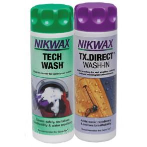 VAUDE Nikwax Tech Wash+TX-Direct Spray, 2x300ml (VPE6) White-20