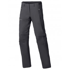 VAUDE Women's Farley Stretch ZO T-Zip Pants iron-20
