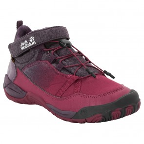 Jack Wolfskin Jungle Gym Texapore Mid K dark red / purple-20