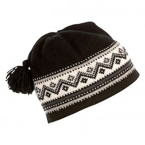 Dale of Norway Vail Hat black / light charcoal / metal / off white / dark grey-20