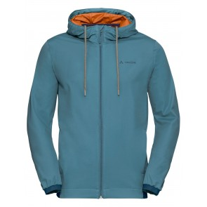 VAUDE Men's Cyclist Softshell Jacket blue gray-20
