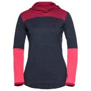VAUDE Women's Tremalzo LS Shirt eclipse/pink-20