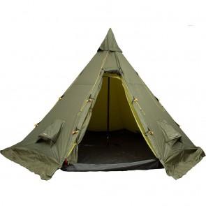 Helsport Pasvik 6-8 Outer Tent+Poles Green-20