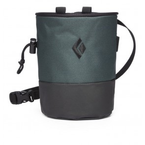 Black Diamond Mojo Zip Chalk Bag Deep Forest-Slate-20