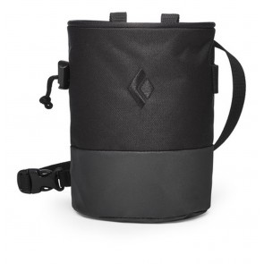 Black Diamond Mojo Zip Chalk Bag Black-Slate-20