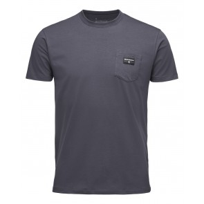 Black Diamond M Pocket Label Tee Carbon-20