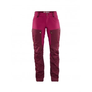 FjallRaven Keb Trousers Curved W Dark Garnet-Plum-20