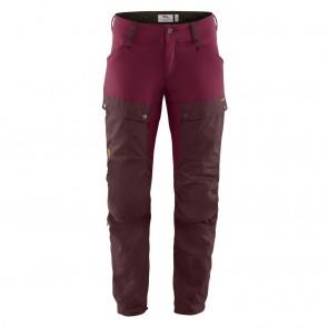 FjallRaven Keb Trousers W Dark Garnet-Plum-20