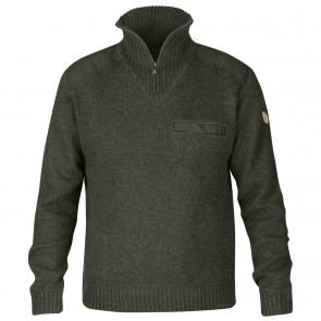 FjallRaven Koster Sweater M Deep Forest-20