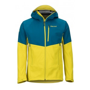 Marmot Men's ROM Jacket Moroccan Blue/Citronelle-20