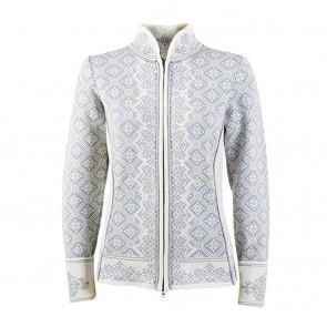 Dale of Norway Christiania Fem Jacket Off white / metal grey-20