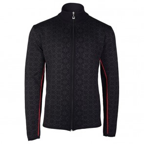 Dale of Norway Christoffer Masc Jacket L Black/ Dark charcoal/ Raspberry-20