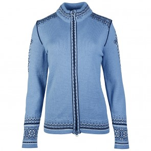Dale of Norway 140th Anniversary Fem Jacket Blue shadow/ off white/ navy-20