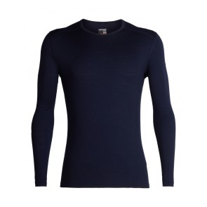 Icebreaker Mens 200 Oasis LS Crewe M Midnight Navy-20