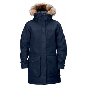 FjallRaven Barents Parka W. S Dark Navy-20
