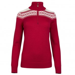 Dale of Norway Cortina Merino Fem Sweater Raspberry / Off white-20