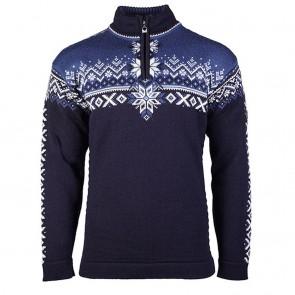 Dale of Norway 140th Anniversary Masc Sweater M Navy/ Indigo/ off white-20