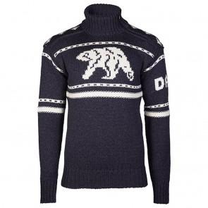 Dale of Norway Isbjørn Uni Sweater Dusty Navy / Off white-20