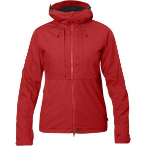 FjallRaven Abisko Lite Jacket W Red-20