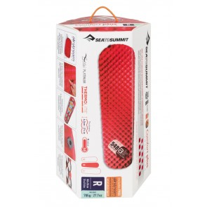 Sea To Summit Comfort Plus Insulated Air Mat Regular Red-20