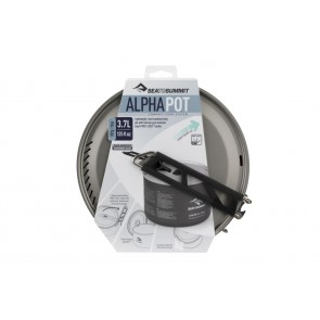 Sea To Summit Alpha Pot 3.7 Liter Grey-20