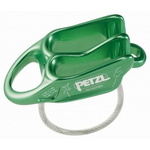 Petzl Belay Device Reverso Green-20