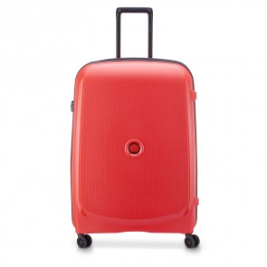 Delsey Belmont Plus 4 Double Wheels Expandable Trolley 76 CM Faded Red-20