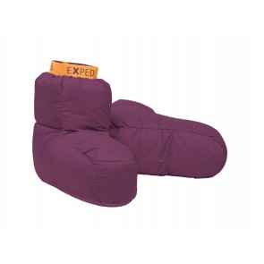 EXPED Down Sock S dark violet-20
